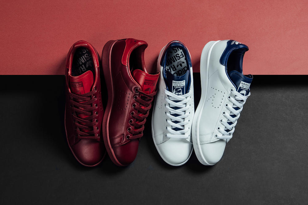 e16deae3bbfb Raf Simons adidas Originals Powder Red Night Sky Elegant Sophisticated