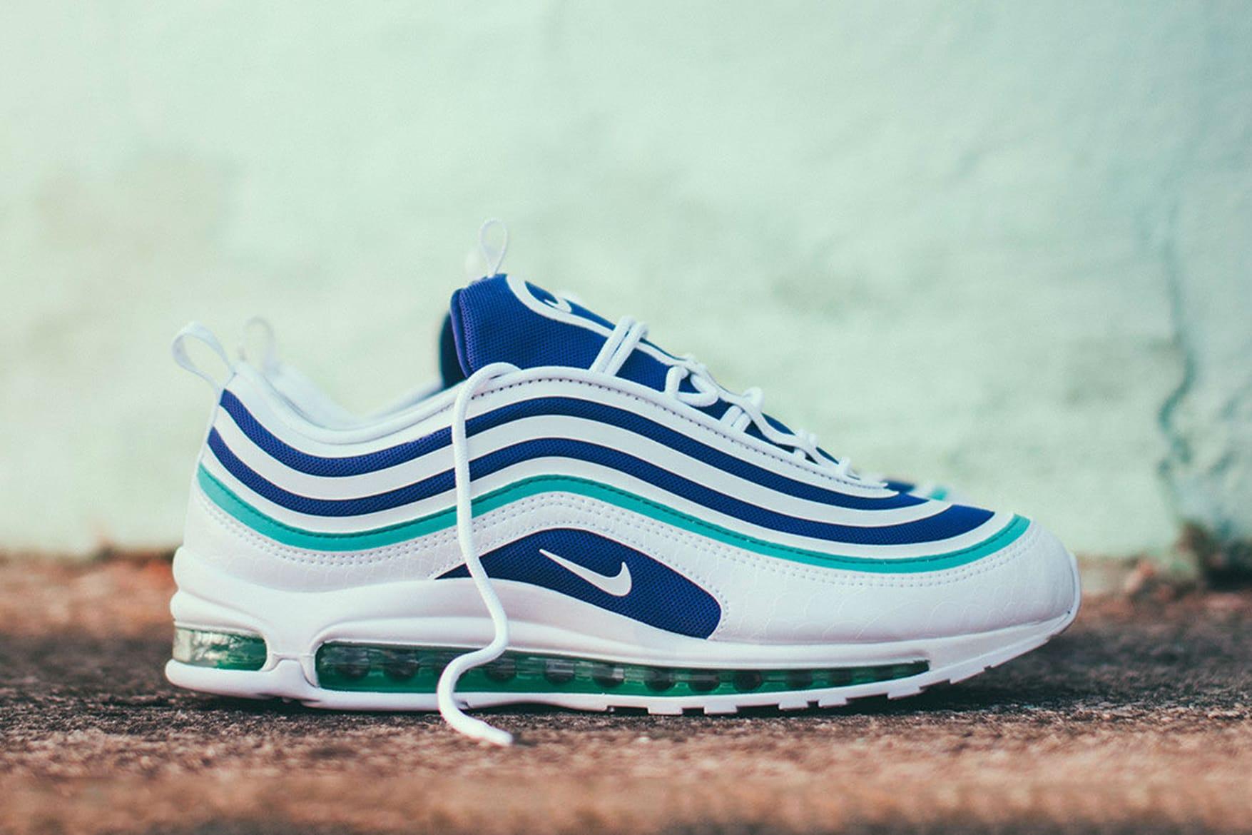 air maxes 97 blue