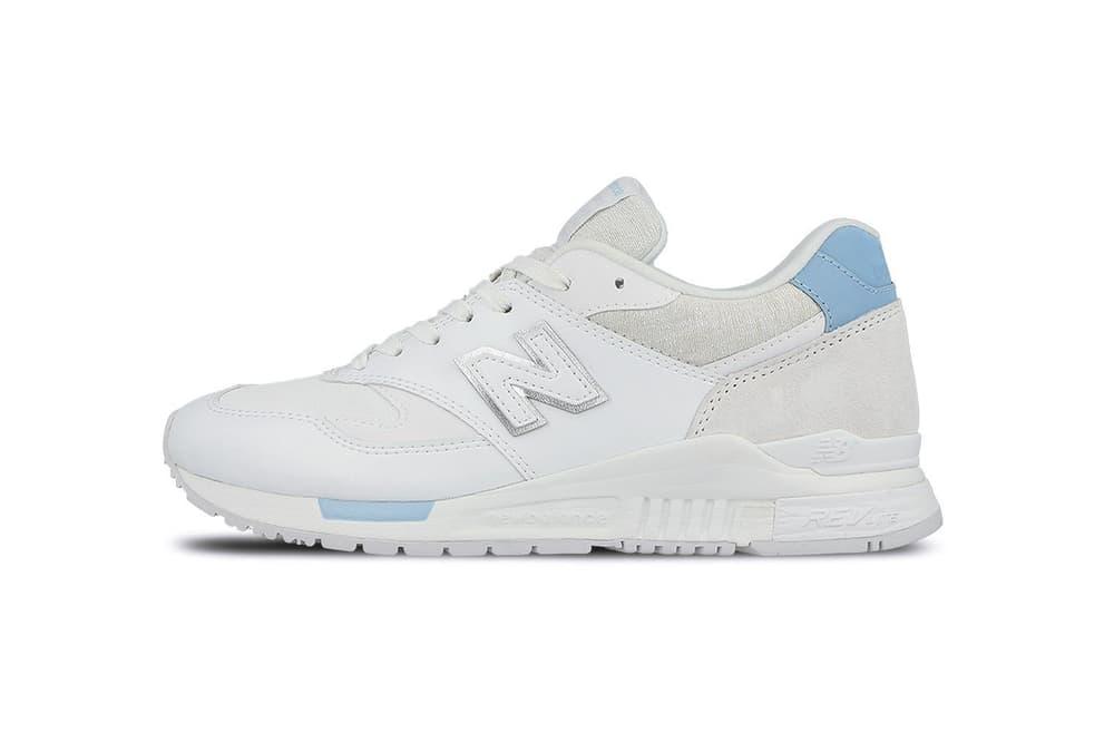 New Balance 840 White Sneaker White Sole Silhouette