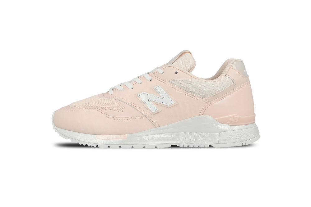 New Balance 840 Pastel Pink Sneaker White Sole Silhouette