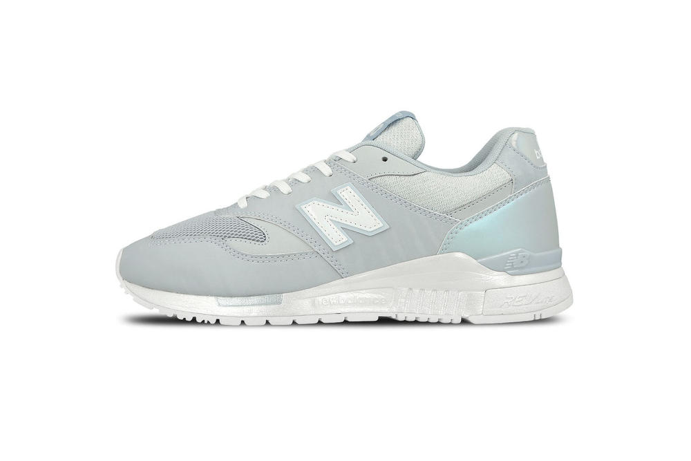 New Balance 840 Pastel Blue Sneaker White Sole Silhouette