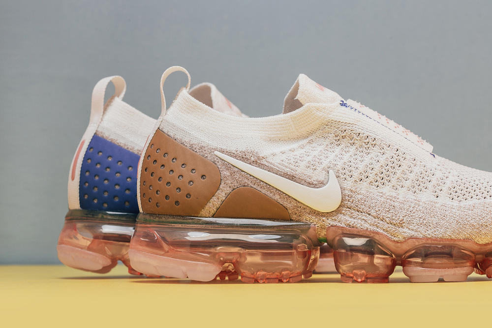 Nike Air VaporMax Flyknit Beige Streetwear Comfort