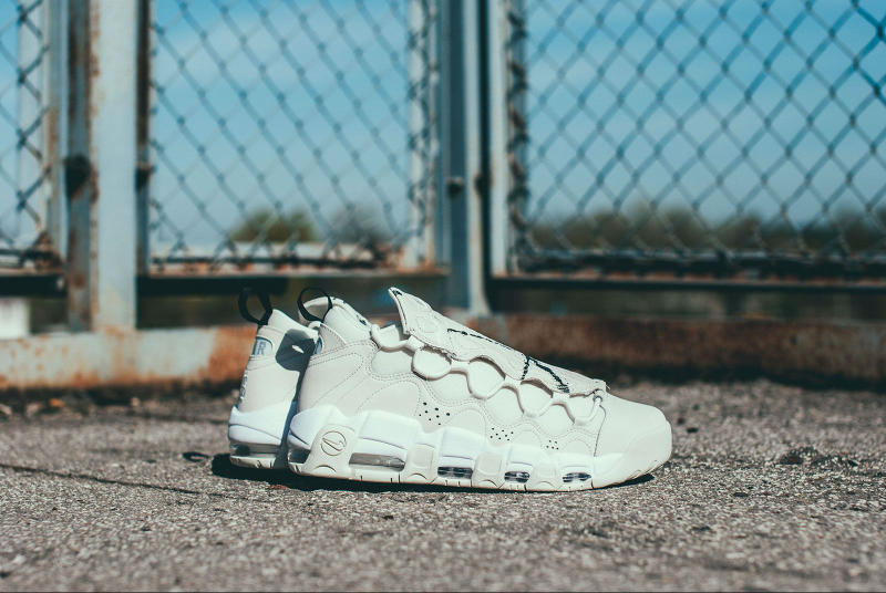 Nike Air More Money Phantom Snakeskin Sneaker Reptile Retro Silhouette