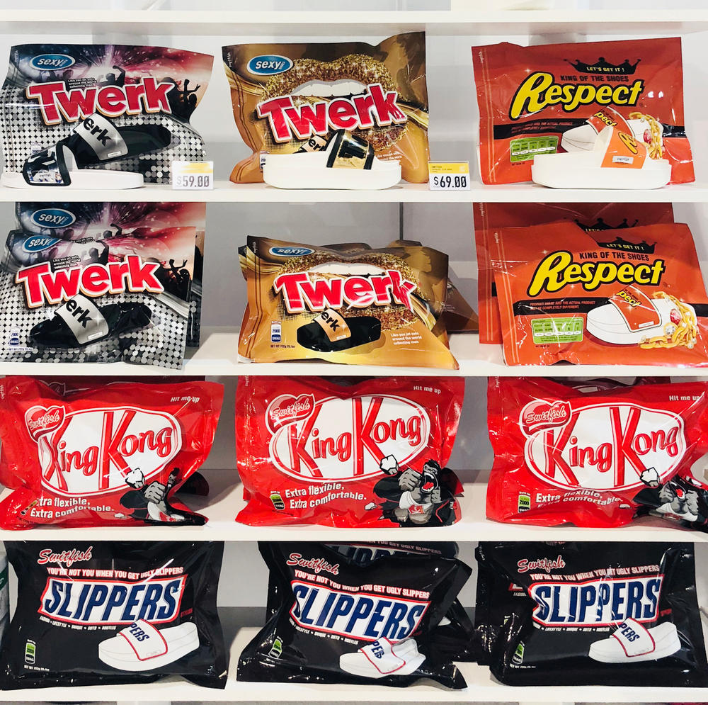 Switfish Candy Cereal Foootwear Collection Oreo Kit Kat Snickers Corn Flakes