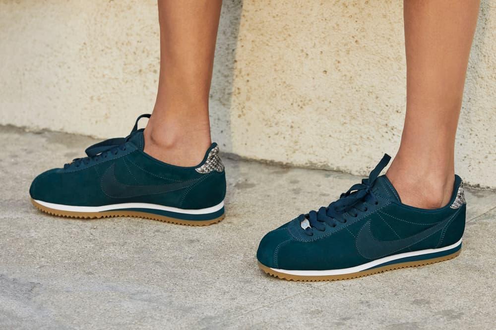 A.L.C. x Nike Classic Cortez Midnight Spruce