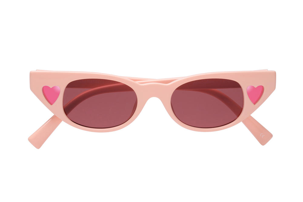 Adam Selman x Le Specs Summer 2018 Sunglasses Collection Eyewear Last Lolita Cat Eye Summer 2018 June Release Date Price Where to Buy Pink Heart