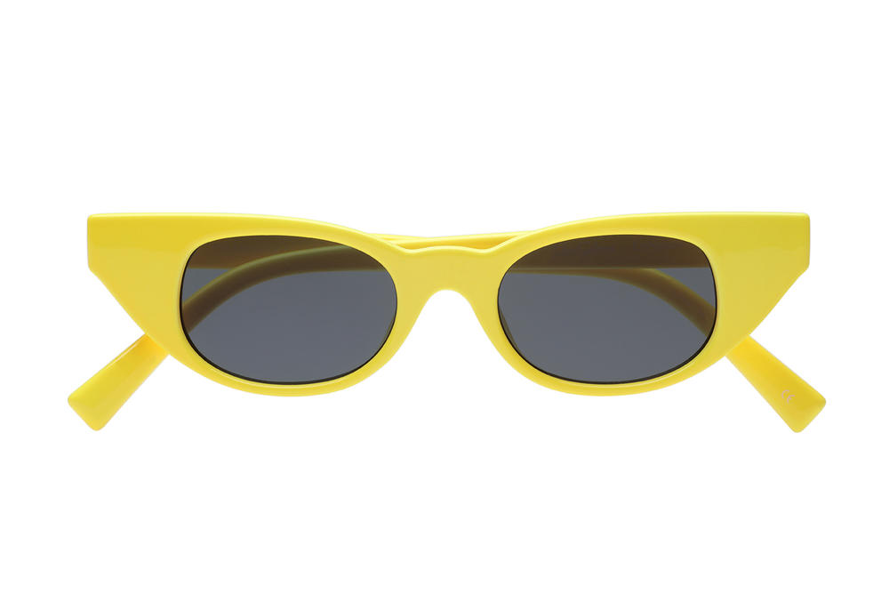 Adam Selman x Le Specs Summer 2018 Sunglasses Collection Eyewear Last Lolita Cat Eye Summer 2018 June Release Date Price Where to Buy Yellow