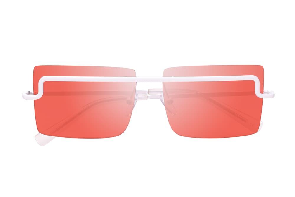 Adam Selman x Le Specs Summer 2018 Sunglasses Collection Eyewear Last Lolita Cat Eye Summer 2018 June Release Date Price Where to Buy Orange