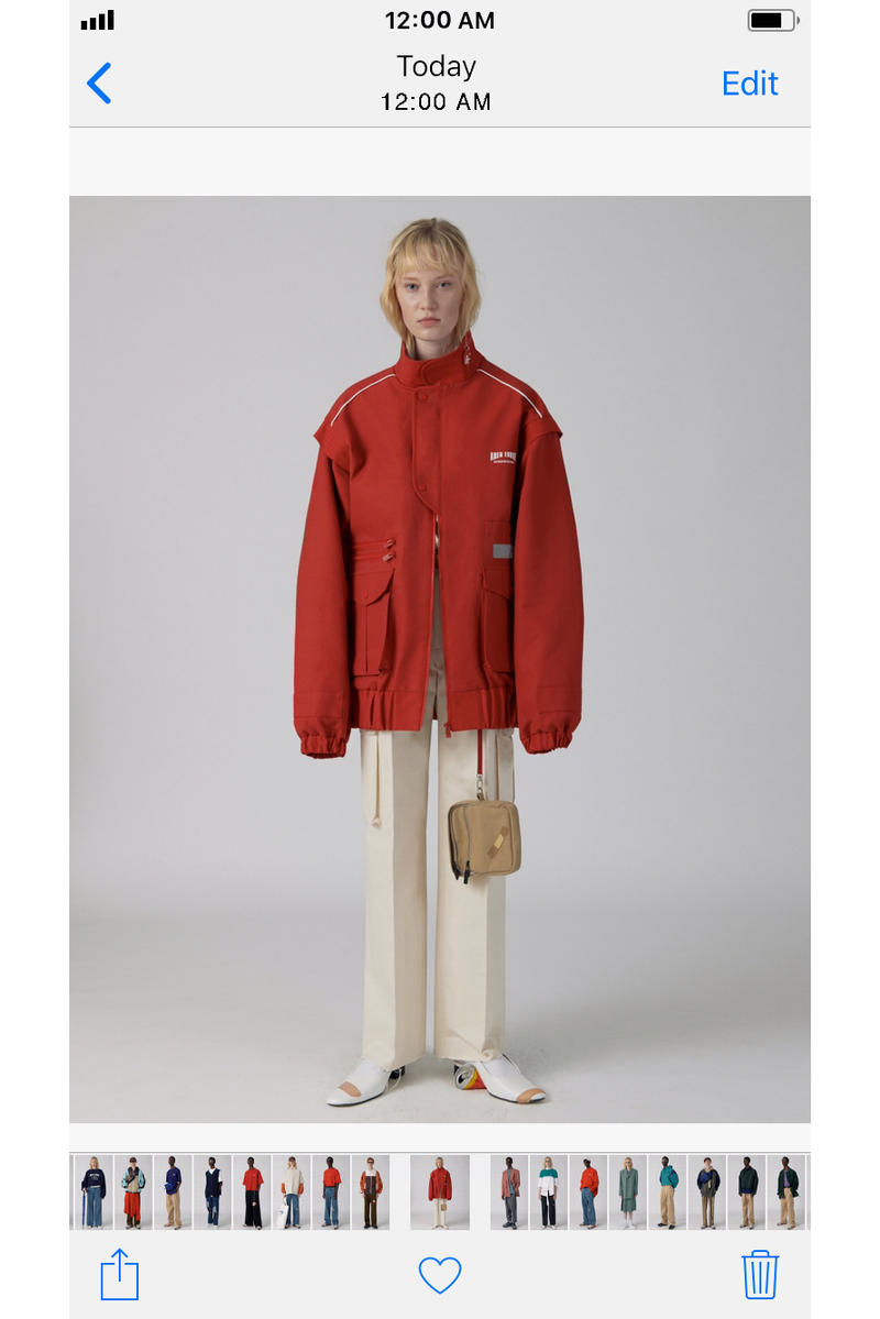 Ader Error Spring/Summer 2018 iPhone Lookbook Collection Korean Fashion Style Streetwear Label