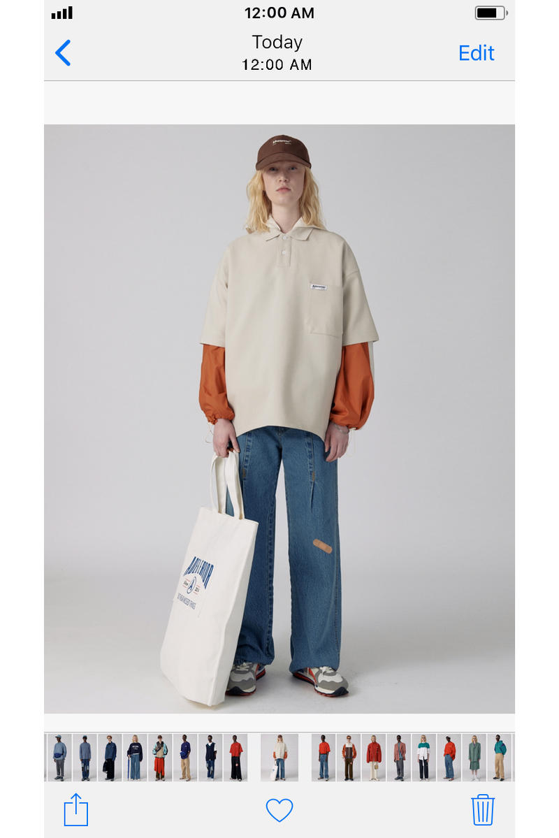 Ader Error Spring/Summer 2018 iPhone Lookbook Collection Korean Fashion Style Streetwear Label