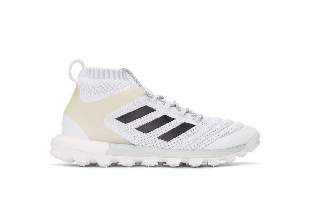 Gosha Rubchinskiy x adidas Originals Sneakers Copa Sock Runner Neon Yellow White Shoe Collaboration
