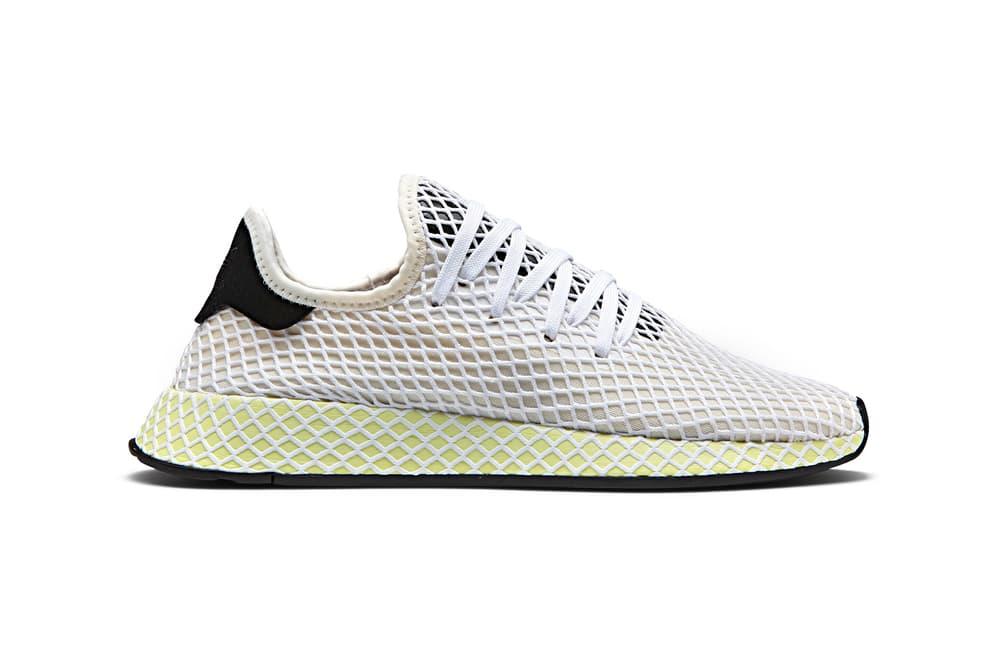 adidas Originals Deerupt Off-White Yellow