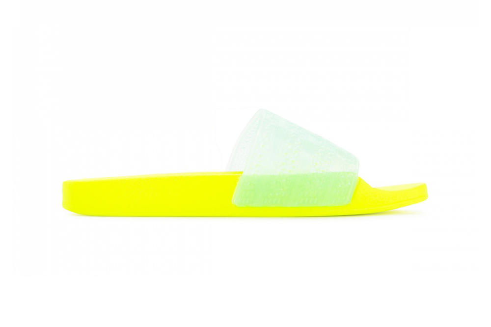 adidas Originals Women's Adilette Lilo Slides Bright Solar Yellow