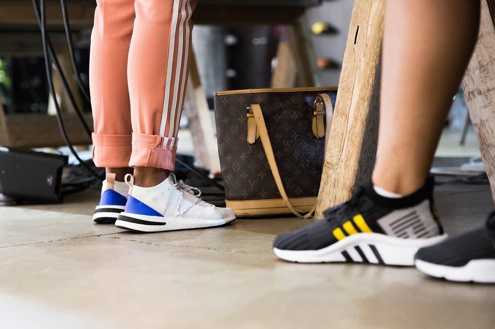 the latest 415d0 c1724 adidas Originals ARKYN women s sneaker TLKS  TLKS Event London Maya Jama  Jamz Supernova Mandi Lennard