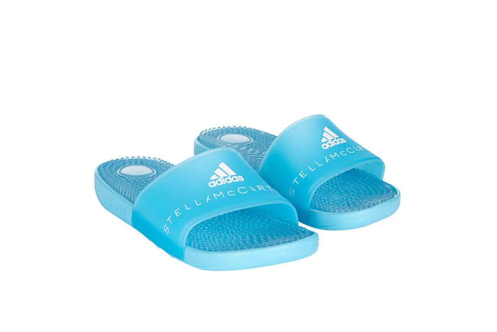 adidas by Stella McCartney SS18 Swimwear Spring Summer Collection Parley Swimsuit Slides