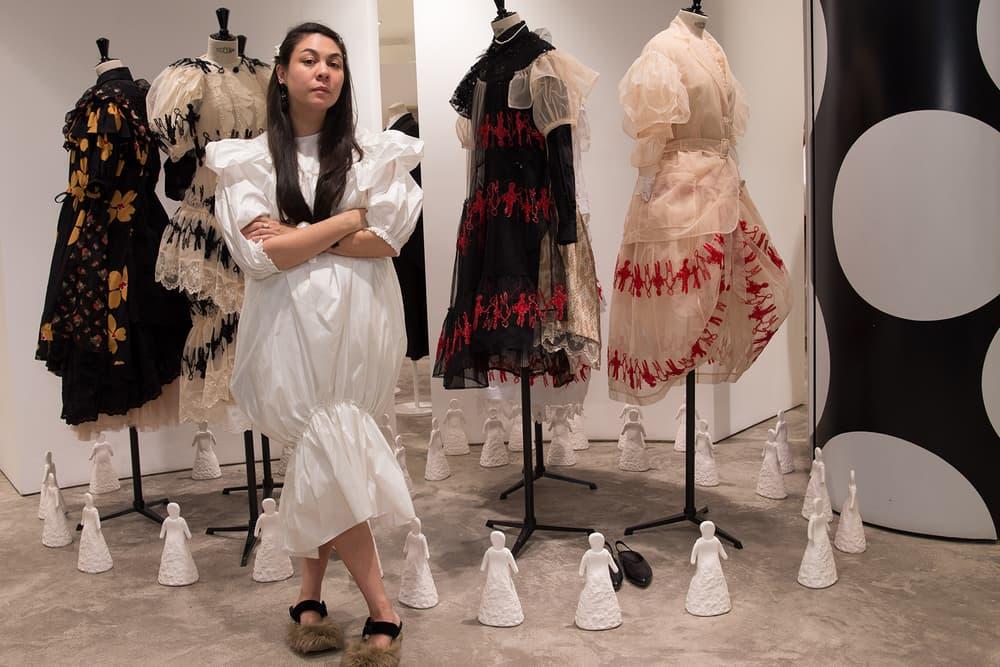 Simone Rocha DSM Beijing Interview 2018 dover street market