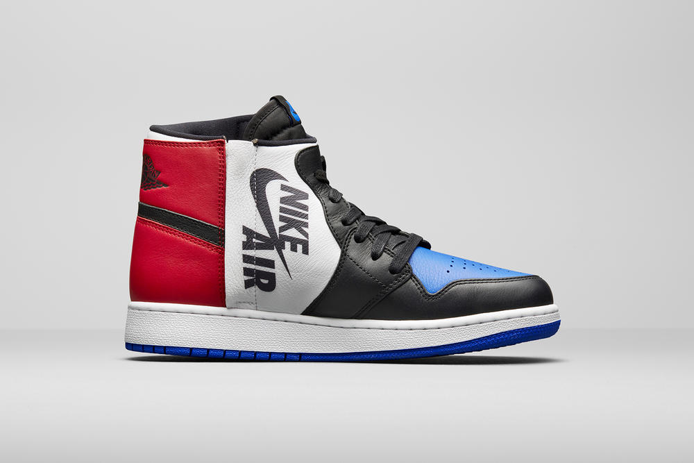 Air Jordan 1 Nike Brand Rebel XX Reimagined Top 3 Bred Royal Chicago Blue Red White Black Release Price Date