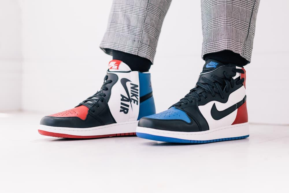 Air Jordan 1 Top 3 Closer Look Chicago Bred Loyal