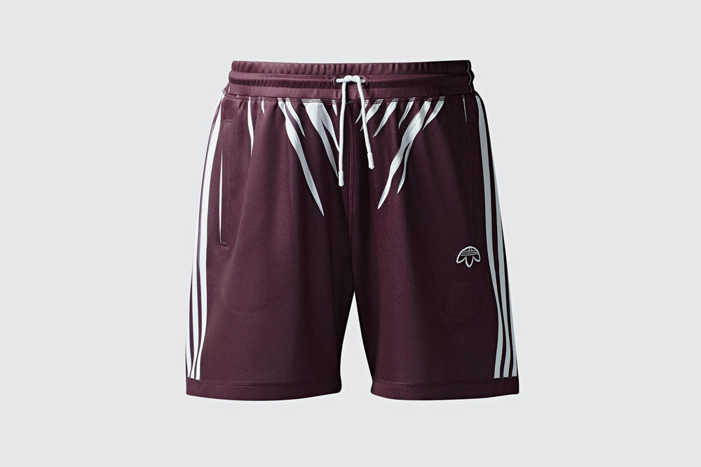 adidas Originals by Alexander Wang Season 3 Collection Shorts Maroon