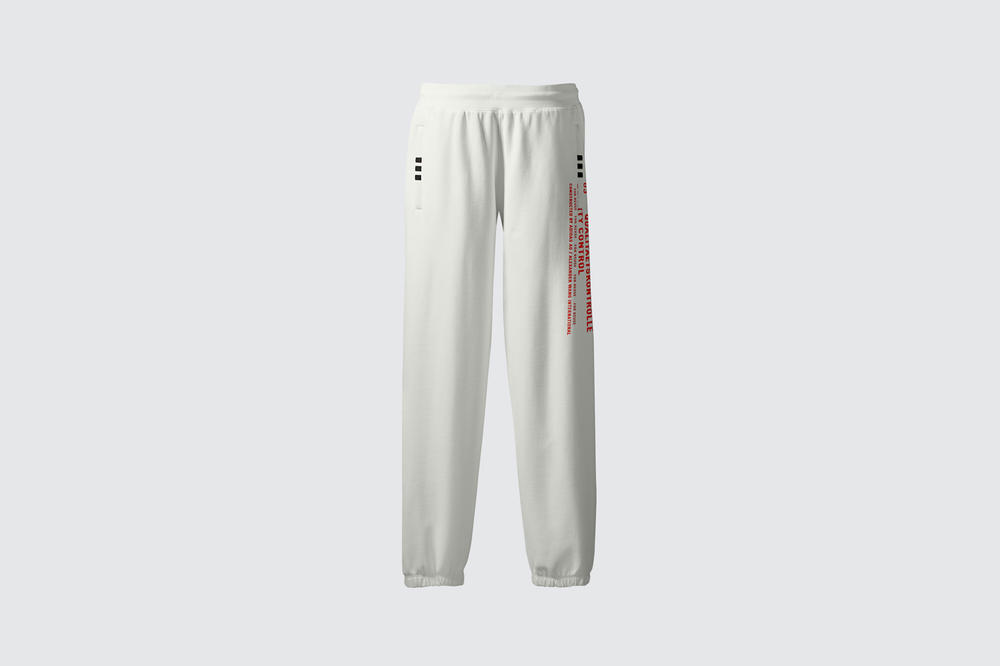 adidas Originals by Alexander Wang Season 3 Collection Track Jogg White