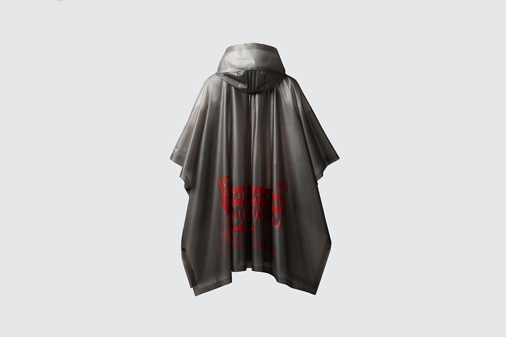 adidas Originals by Alexander Wang Season 3 Collection Poncho Grey