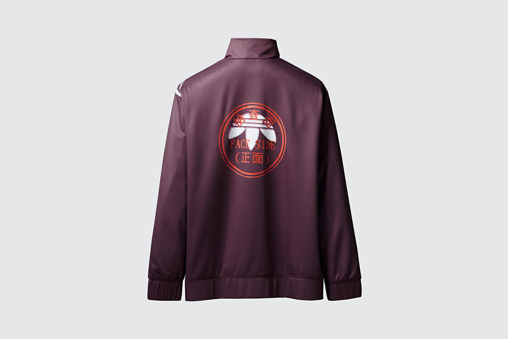 adidas Originals by Alexander Wang Season 3 Collection Track Jacket Maroon