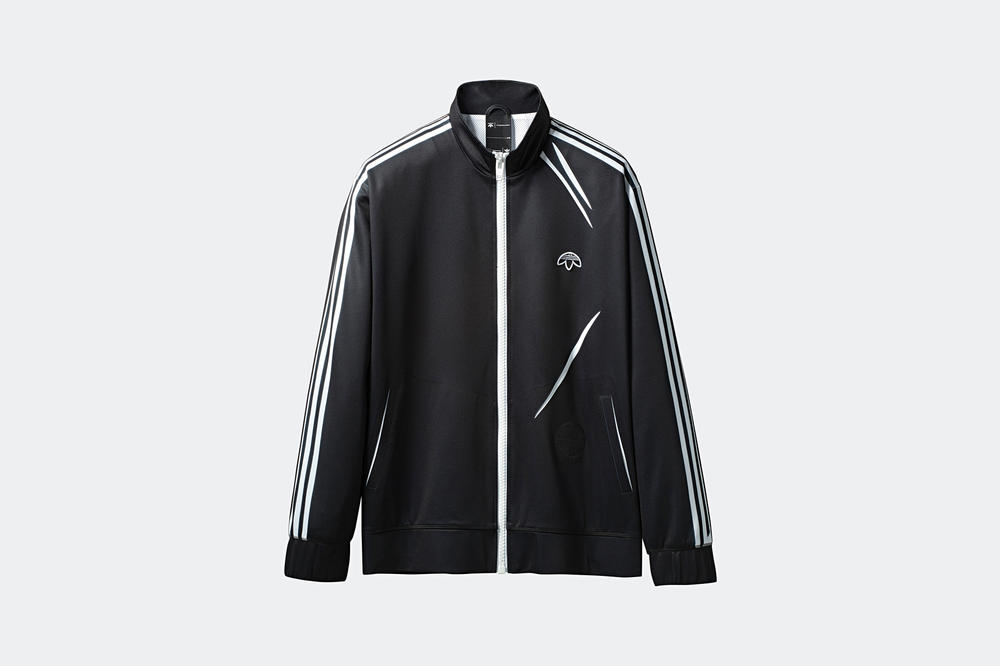 sports shoes ba4cf f620d adidas Originals by Alexander Wang Season 3 Collection Track Jacket Black