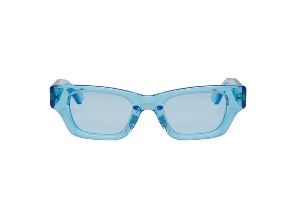 AMBUSH Clear Acetate Blue Ray Sunglasses Yoon Verbal Ambush Spring Summer Shades Accessories