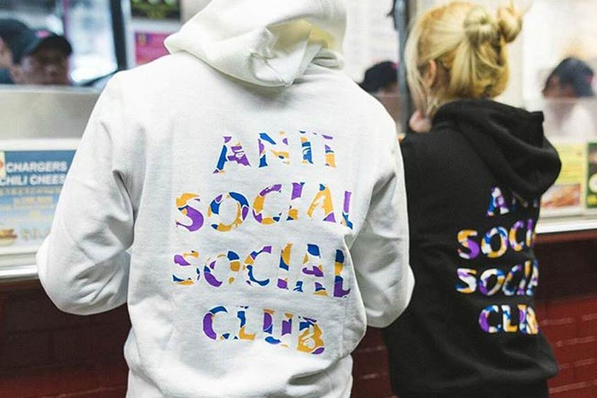 25a11c0ae Anti Social Social Club x BAPE Hoodie and T-Shirt | HYPEBAE