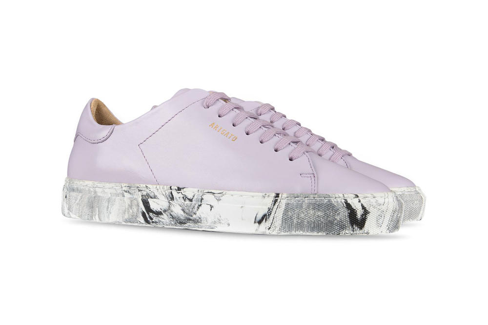 Axel Arigato Clean 90 Leather Lilac