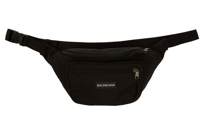 discount up to 60% convenience goods best quality Balenciaga Explorer Fanny Pack in Black and Red | HYPEBAE