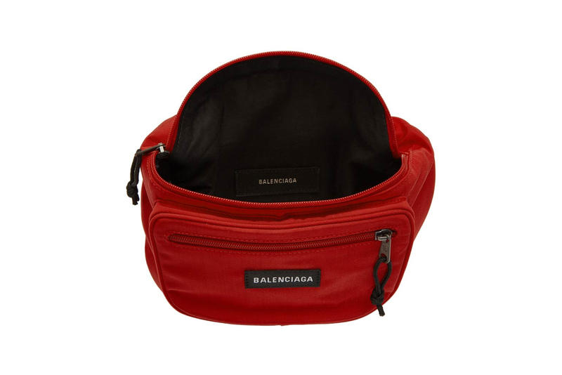 Balenciaga Nylon Explorer Belt Pouch Red
