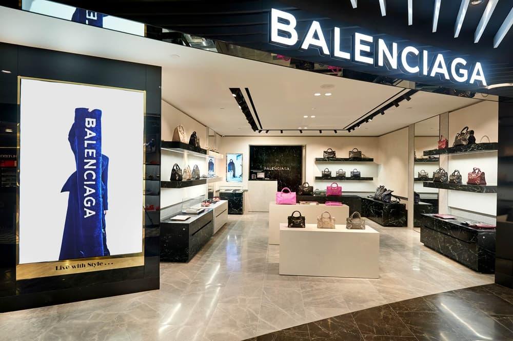 Balenciaga Store Front