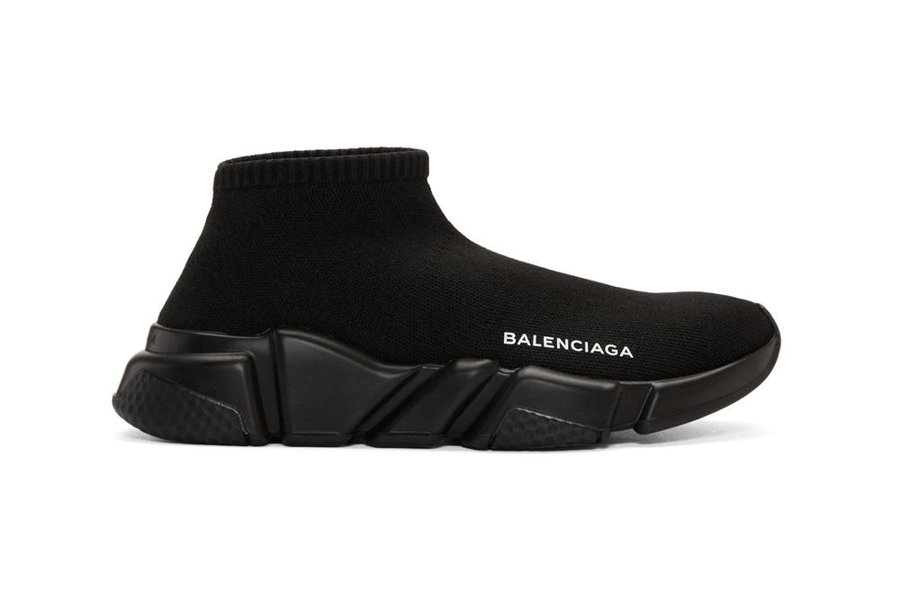 Balenciaga Speed Low Sneaker Black