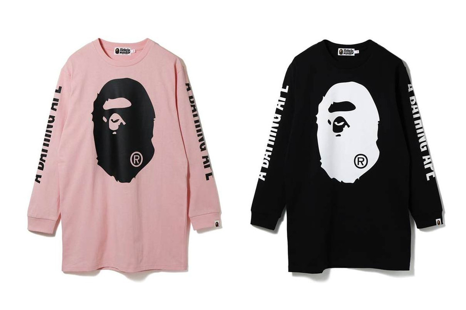 233d55da2 Shop BAPE Big Ape Head T-Shirts in Pink and Black | HYPEBAE
