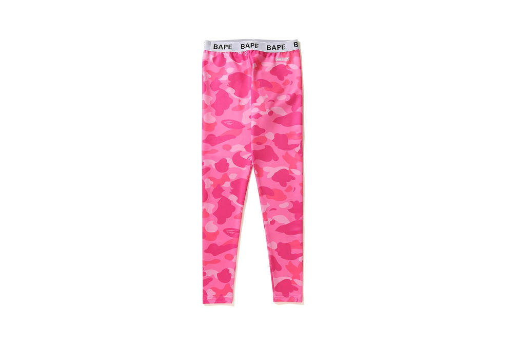 BAPE Camo Leggings Pink