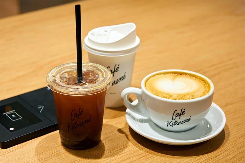Fashion Cafe Masion Kitsune Paris seoul Korea Coffee Location Hours