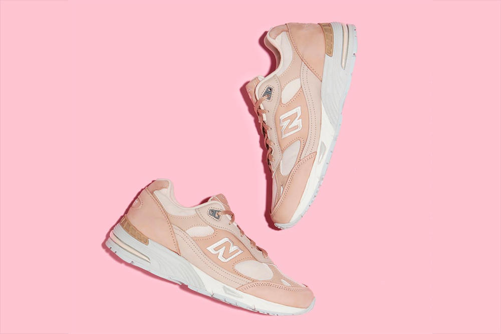 Best Underrated Dad Sneaker Chunky New Balance 991 Pink Sand Grey Release Price