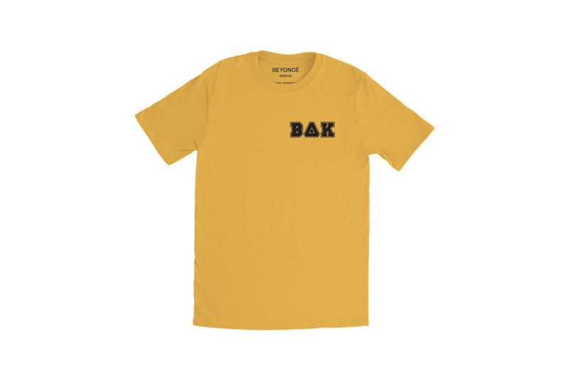 Beyoncé Coachella 2018 Merch BΔK Panther Tee Yellow