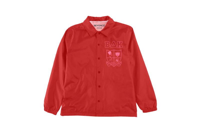 Beyoncé Coachella 2018 Merch Crest Windbreaker Red