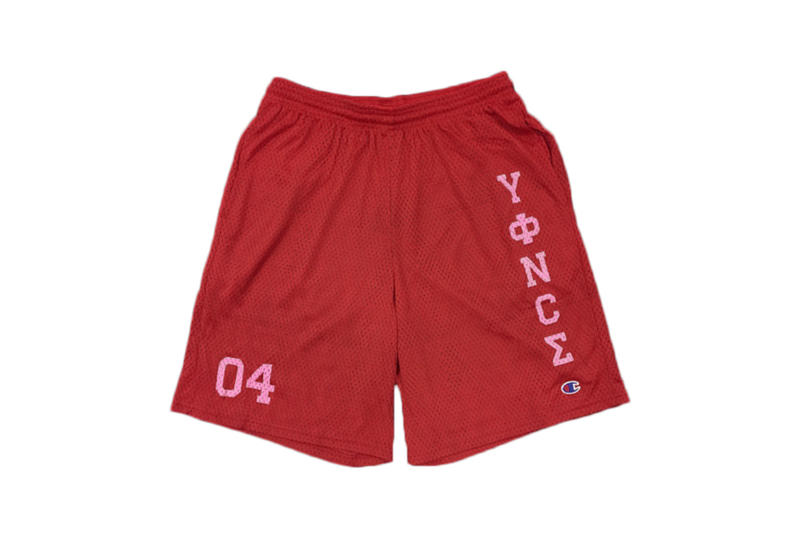 Beyoncé Coachella 2018 Merch Yonce x Champion Shorts Red