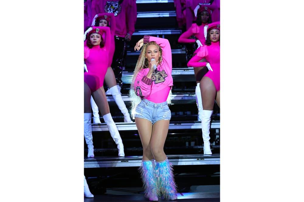 Beyoncé Coachella Weekend Two Beychella Bak 2018 Looks Pink Silver Balmain Reunion Music Festival Band Crown