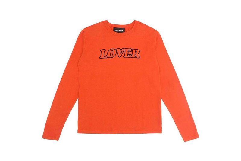 Bianca Chandôn's LOVER T-Shirt Orange