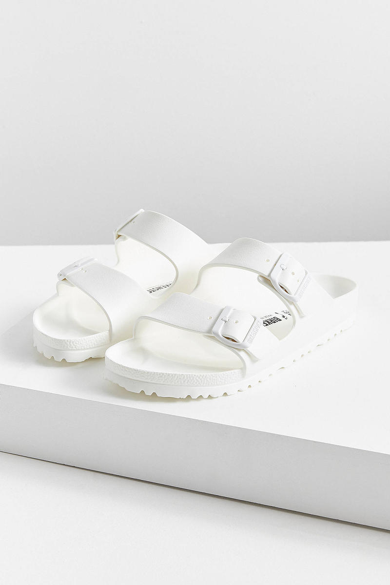 Birkenstock Arizona EVA Sandals White Urban Outfitters Price Release Slip Ons Slippers Where to Buy