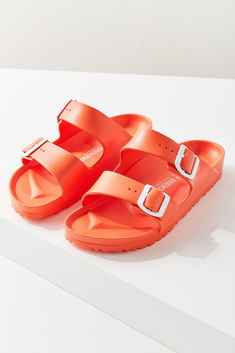 Birkenstock Arizona EVA Sandals Orange Urban Outfitters Price Release Slip Ons Slippers Where to Buy