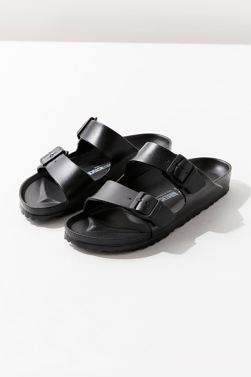 Birkenstock Arizona EVA Sandals Black Urban Outfitters Price Release Slip Ons Slippers Where to Buy