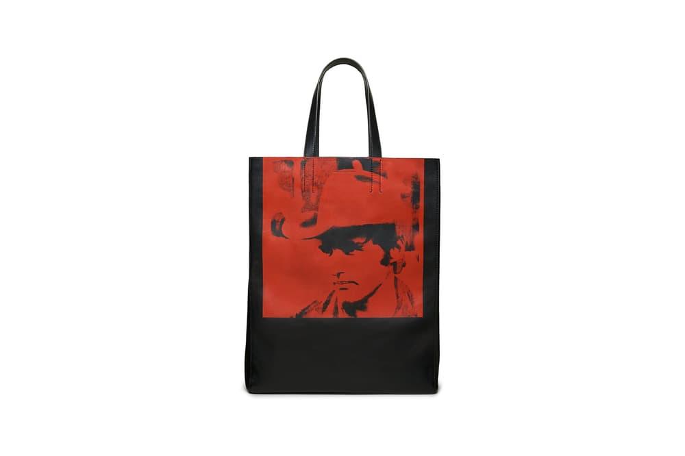 CALVIN KLEIN 205W39NYC Spring/Summer 2018 Handbag Collection Dennis Hopper Tote Black Red