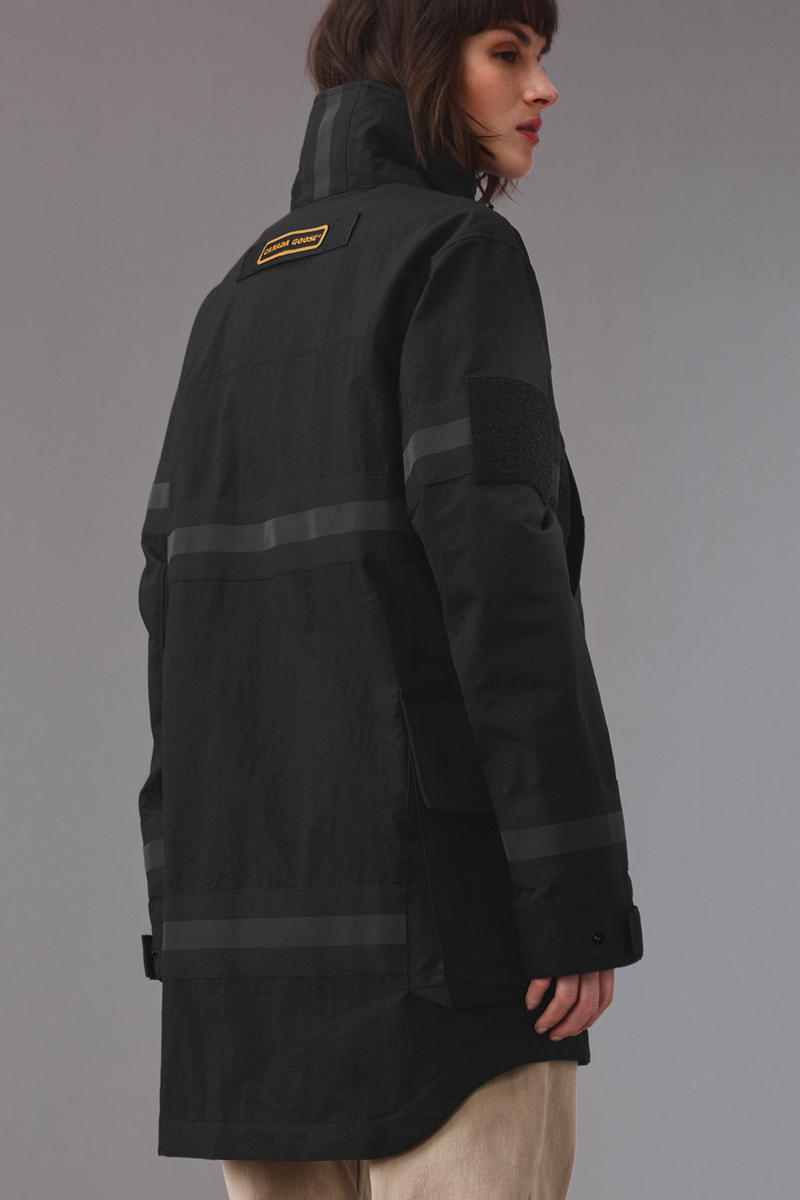 Canada Goose x FDNY Foundation The Bravest Coat Black