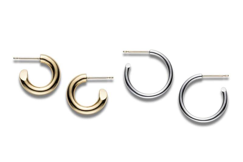 CAREERING Spring Summer 2018 Earrings Hoop Silver Gold
