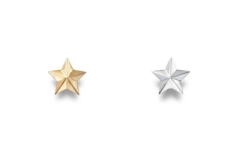 CAREERING Spring Summer 2018 Earrings Star Silver Gold
